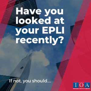 Before your bring employees back you need an updated EPLI
