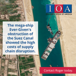 Ever Given at Suez Canal
